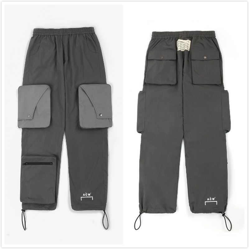 NEW A-COLD-WALL ACW Pants Men Women Streetwear Hip Hop Casual Sports Pants Loose Joggers Trousers A-COLD-WALL Kanye West Pants