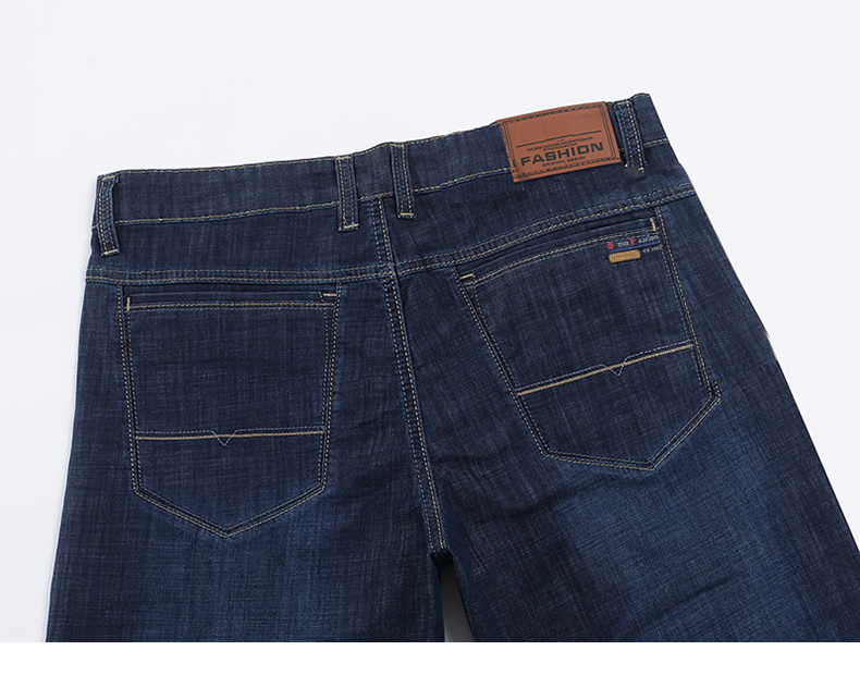 KSTUN Jeans Men Shorts Dark Blue Ultrathin Stretch Business Casual Straight Regular Fit Male Denim Short Pants Mens Shorts Homme 14