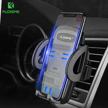FLOVEME Car Phone Holder For iPhone XR XS Air Vent Mobile In Monut suporte celular carro