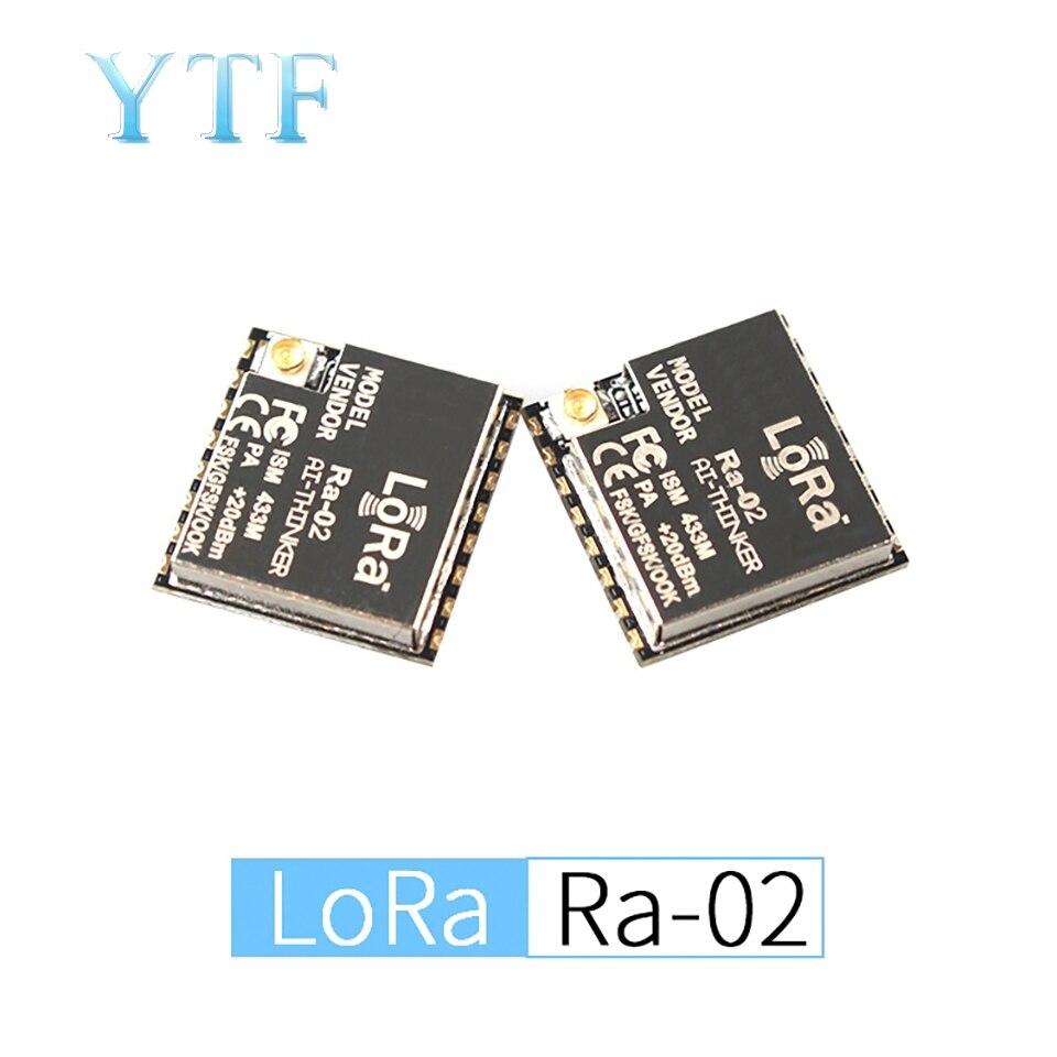 Ra-02 LoRa SX1278 433M 10KM Wireless Spread Spectrum Transmission Module IPEX Socket DIY Kit For SPI GPIO Interface