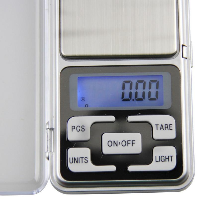 Junejour100/200/300/500 г весы Карманные весы, электронные цифровые 0,01 г точность мини ювелирные изделия Подсветка весы Кухня-4