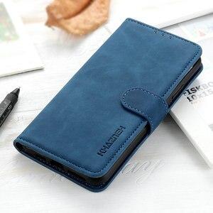 Retro Plain Leather Flip Case for LG K40S Luxury Case LG K 40 s 40s Phone Cover 360 Protection Shockproof for LG K40 Case Fundas