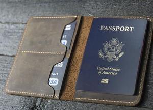 Image 4 - Japão lâmina de aço morrer cortador modelo de couro passaporte carteira presente para o homem passaporte titular punch ferramenta mão corte faca molde