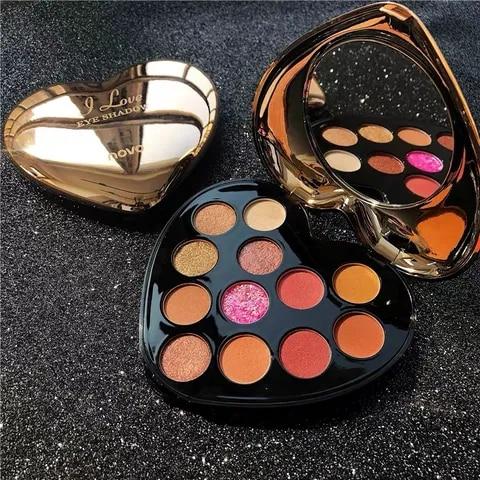 loving beauty charming eyeshadow paleta 12 cores