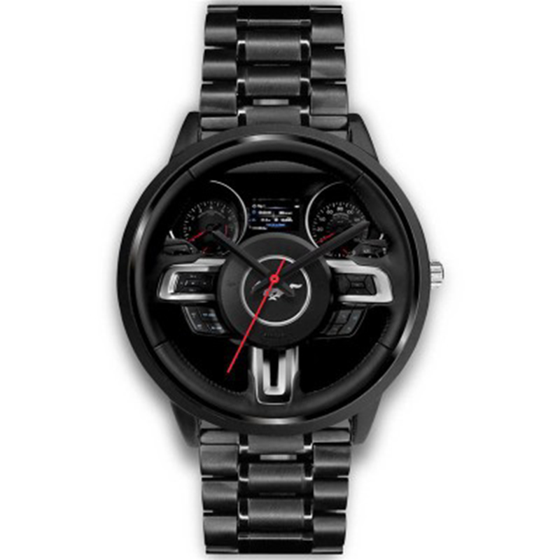 New Casual Luxe Style Classic Precision Fashion Men's Quartz Watch Luxury Racing Free Stainless Strap Clock Casual Sports