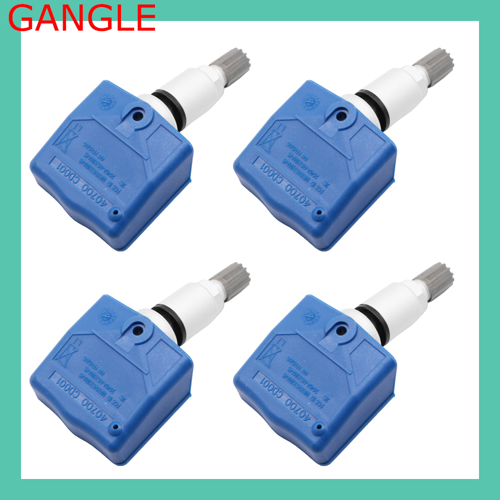 40700-CD001 40700CD001 4PCS 1PCS Car TPMS Tire Pressure Sensor 315MHz For INFINTI NISSAN