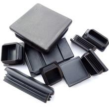 75x150 100*150 60*80 60*120 80*120 120*120mm wtyk rurowy PE plastikowa rurka włóż koniec wygaszania osłona rury kończy się plac podłużne podłogi