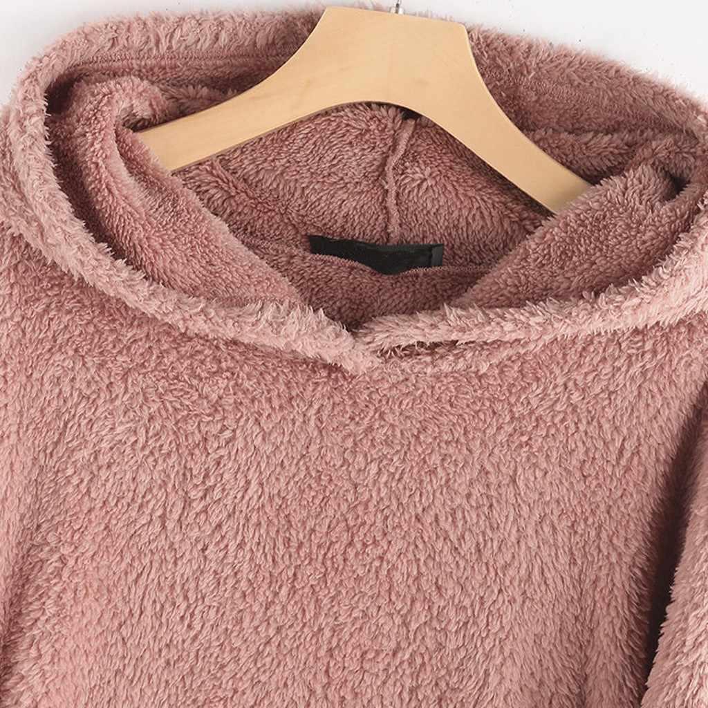 35 # プラスサイズパーカー女性フリース刺繍猫耳パーカーポケット服セーター特大パーカートレーナーアリアナグランデ