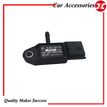Original Intake Pressure Sensor  6X71 9F479 AA For Car Ford Transit V347 2.4 Tdci and Mendeo III 2.0 Engine Auto Parts