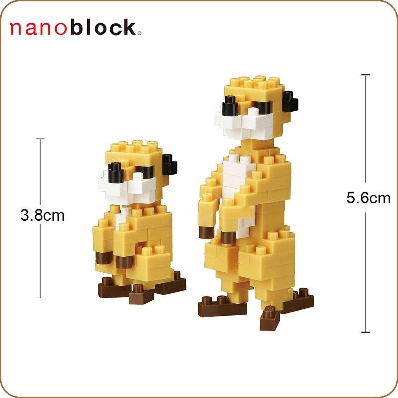 NBC-061 Level 2 NEW 110 Pieces Nanoblock MALLARD DUCK