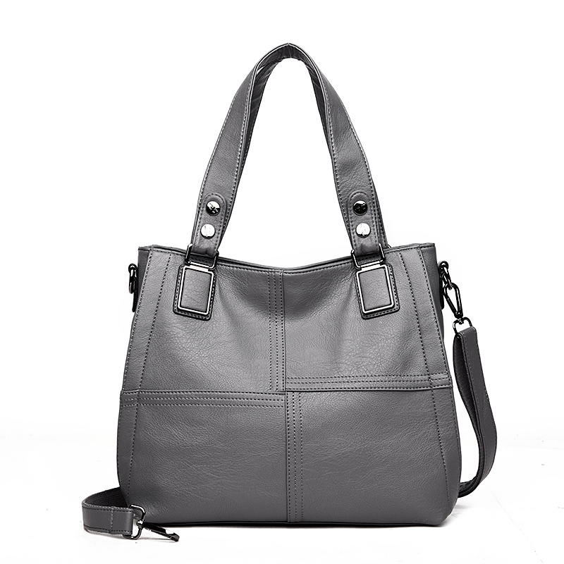 Leather Luxury Handbags Women Bags Designer Handbags Ladies Shoulder Hand Bags For Women 2019 Large Casual Tote Sac Bolsa Femini 5