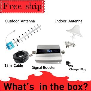 Image 5 - 4g signal booster 1800mhz LTE GSM Mobile Signal Booster band 3 Repeater DCS 1800Mhz Cellphone Cellular GSM 1800 Cell Phone