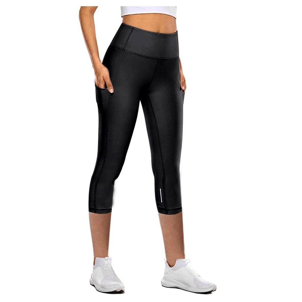 Leggings Energy High Waist Seamless Push Up Leggins Sport Women Fitness Running Gym Pants Energy Pockets Leggings Bardot #YJ