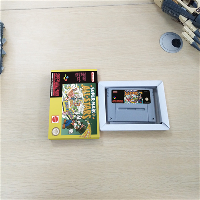 Super Marioed All Stars With Retail Box RPG Game Battery Save EUR Version