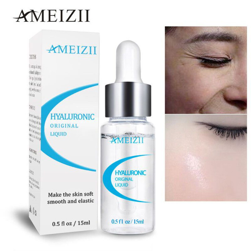 Ameizii Pure Hyaluronic Acid Serum Moisturizing Collagen Skin Repair Essence Whitening Anti Wrinkle Face Cream Acne Treatment image