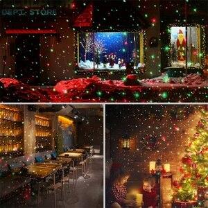 Image 5 - Im freien Wasserdichte Laser Projektor Weihnachten LED Bühne Licht Garten Rasen Licht Stern Projektor Duschen Home Party Dekoration