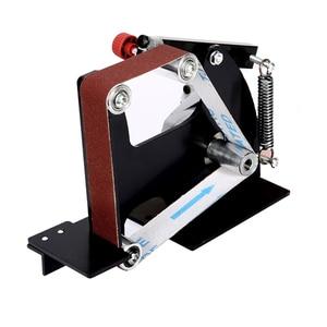 Image 4 - Amoladora angular eléctrica M10/M14, accesorios de adaptador de correa de lijado para máquina pulidora de madera 100/115 125