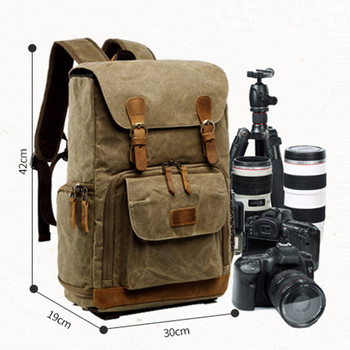 Camera Bag Backpack Waterproof Photography Outdoor Water Resistant Canvas Bag New Arrival