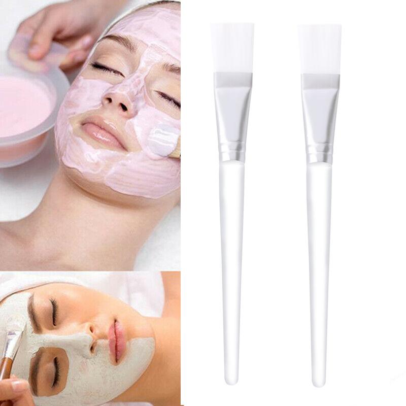 2pcs Professional Makeup Brushes Face Mask Brush Mud Mixing Brush Facial Cosmetic Beauty Skin Care Tools Brochas Para Maquillaje