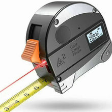 40M Laser Measuring Tape Retractable Digital Electronic Roulette Stainless Tape Measure Multi Angle Measuring Tool