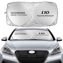 Auto Windschutzscheibe Sonnenschutz Abdeckung Für Hyundai i10 N Linie Grand iRDE IA BA Xcent Auto Zubehör Blöcke UV Rays sonnenblende Protector