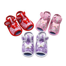 Newborn Baby Girl Shoes Printing Bow Prewalker Soft Sole Kids Shoes Single Shoes Baby Schoenen Melissa Пинетки Zapatos Bebe(China)