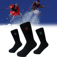 Electric Battery Heated Socks Feet Winter Warmer Heater Foot Shoe Boot EK New