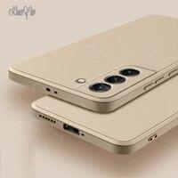 XUANYAO-Funda de silicona líquida para Samsung Galaxy S21, S9, S8, S20, S10 Plus, Ultra FE Lite, S 20, 21
