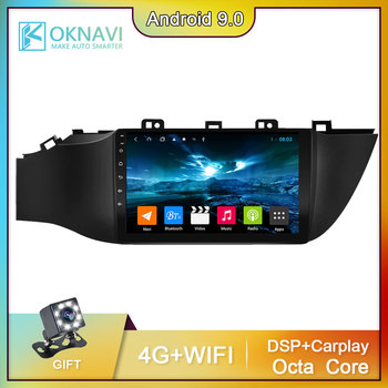 For Kia RIO 4 2017 2018 2019 Car DVD Player Radio Video Stereo DSP Carplay Audio GPS Navigation 2 Din Android 9.0 Radio No DVD автомобильный dvd плеер junniu 4 2 2 dvd skoda octaiva 7 2 din gps gps 8gb