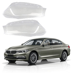 Прозрачные линзы для автомобильных фар, кожух, маски для передних фар BMW 5 серии G30 G38 2017-2018