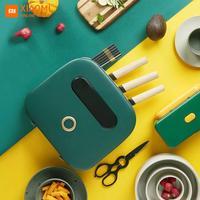 Mejor https://ae01.alicdn.com/kf/H9103c7428aed4f8fa2e63f0a63a8595eb/Esterilizador Xiaomi Kalar UV soporte para cuchillos esterilización almacenamiento de utensilios de cocina organizador de utensilios.jpg