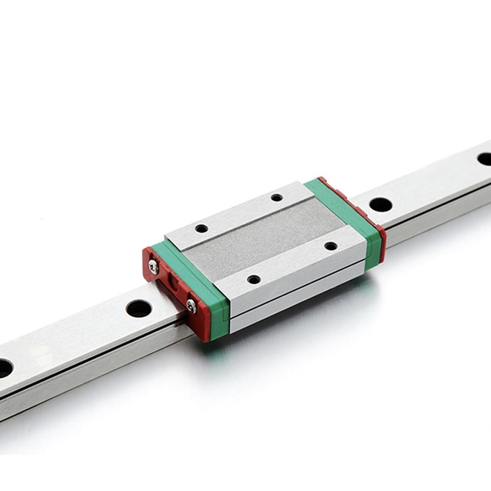 CNC Parts MGN7 MGN12 MGN15 MGN9 300 350 400 450 500 600 800mm Miniature Linear