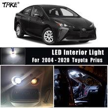 TPKE – Kit d'éclairage intérieur de voiture Led sans erreur, blanc, 11 pièces, pour Toyota Prius 20 30 40 50, NHW20 ZVW30 ZVW40 ZVW50 ZVW51 ZVW55, 2004 – 2020