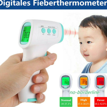 Muti-fuction Baby Adult Digital Termometer Infrared Forehead Thermometer Gun Non-contact Temperature Measurement Device Tool