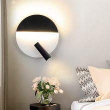 butterfly bedside bedroom wall lamp creative aisle light modern creative balcony living room reading hotel wall lamp acrylic Simple Creative LED Wall Light Modern Bedroom Bedside Lamp 360Degree Rotatable Wall Mounted Reading Light For Living Room Hotel