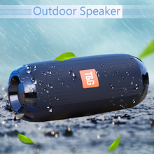 цена на Portable Bluetooth Speaker 20w Wireless Bass Column Waterproof Outdoor USB Speakers Support AUX TF Subwoofer Loudspeaker speaker