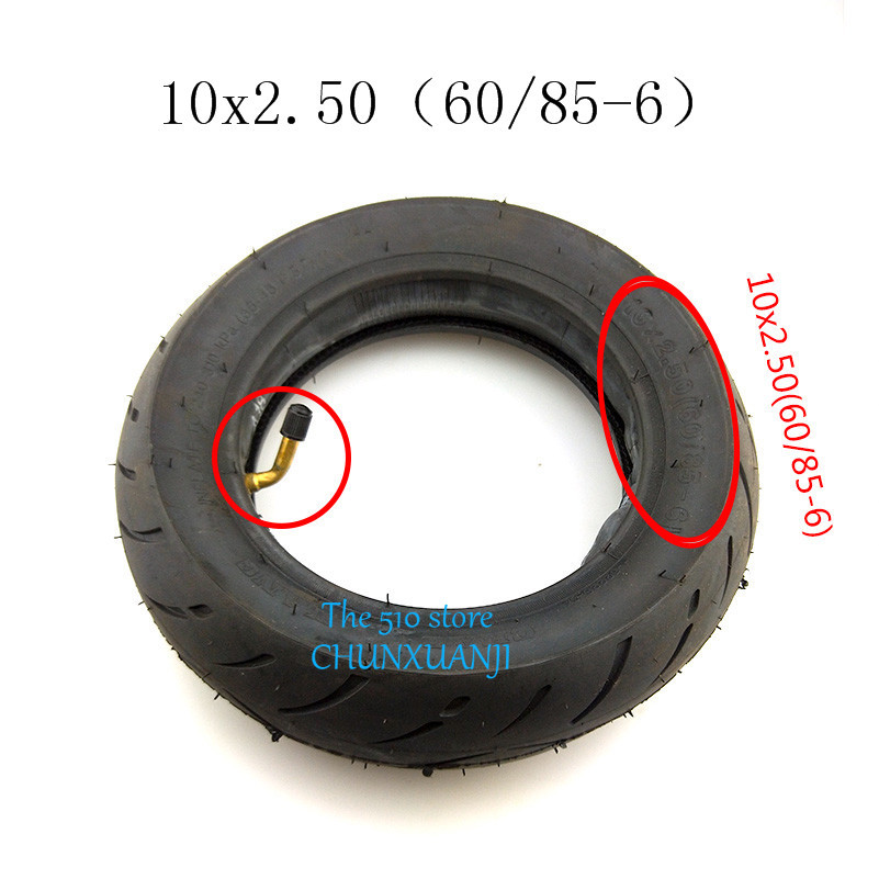 Newset widening thickening and wearable tireCST 10X2.5 tube tyre 10*2.50 10 inch tire tube inner tube wheel for electric scooter