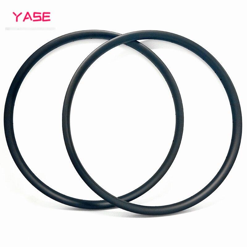 YASE 29er сверхлегкие Углеродные Диски для горных велосипедов обод 30x22 мм Асимметричный бескамерный велосипедный Руль стальной диск MTB Диски ERD 597 мм 310 г