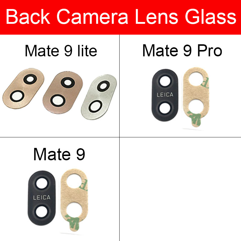 Rear Camera Lens Glass For Huawei Mate 9/Mate 9 Pro/Mate 9 Lite Back Camera Lens With Adhensive Sticker Flex Cable Repari Parts
