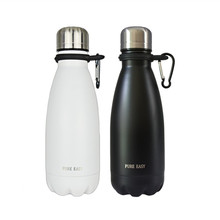 350ML PUREEASY portable sport water thermos bottles Double wall stainless steel vacuum Travel thermal bottle termos