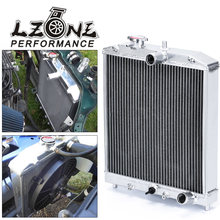 LZONE - 3 rangée 52MM plein radiateur en aluminium pour HONDA CIVIC B18C/B16A MT 32MM IN/OUT JR-SX104