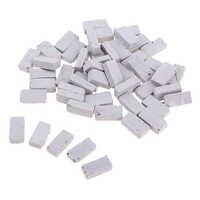 50x modelo de bloque 1/35 miniatura para mesa de arena Diorama decoración de edificios