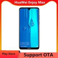 DHL entrega rápida HuaWei disfrutar de Max 4G LTE teléfono celular 7,12