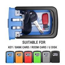 Lock-Box Key-Safe Mool 4-Password-Combination Wall-Mounted Outdoor Aluminum-Alloy Weatherproof
