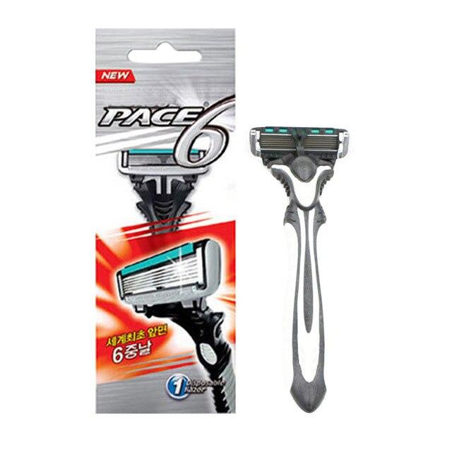Personal Stainless Steel Safety Razor Blades,Men Shaving Pace 6 Layer Razor Blades For Men Shaver Razor