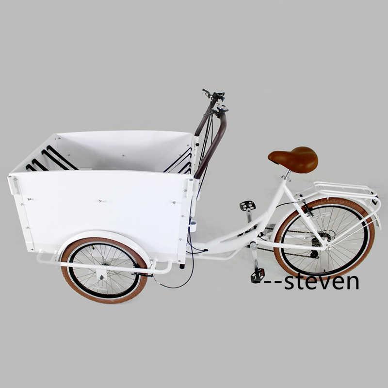 RL-T05A 食品配信リチウムバッテリー電源子バイク 3 輪電動貨物自転車ペダルトライク三輪車