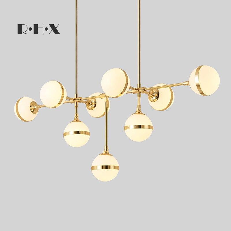 Modern Hanglamp Lustre Pendente Crystal Home Decoration E27 Light Fixture  Restaurant   Living Room  Luminaire