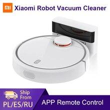 글로벌 버전 XIAOMI Mi 로봇 진공 청소기 홈 자동 청소 먼지 소독 스마트 계획된 Wifi App 원격 제어