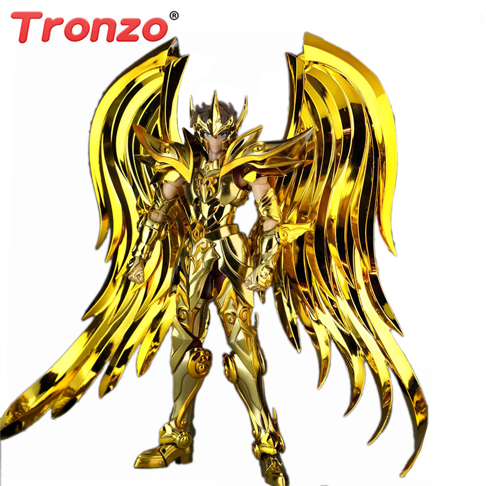 Saint Seiya Myth Cloth EX Sagittarius Aioros God Cloth Soul Of Gold Set Bandai