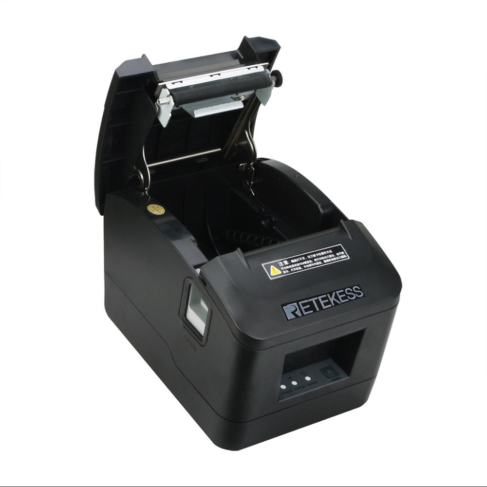 72 RETEKESS TD022 Portable Mini 72 mm Black Thermal ticket printer Portable Mini 160 mm for restaurant order system ticket printer (4)